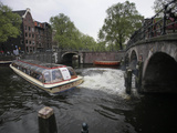 Travel Trip Amsterdam on a Budget Photographic Print by Peter Dejong