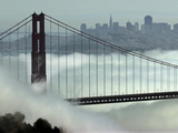 San Francisco Golden Gate Bridge Photographic Print by Paul Sakuma