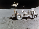 Apollo 15 Moon Surface 1971 Photographic Print