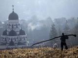 APTOPIX Moldova Daily Life Photographic Print by John Mcconnico