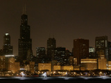 World Lights Out Illinois Photographic Print by Charles Rex Arbogast