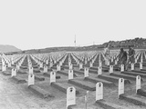 WWII Iwo Jima Usmc Cemetery Photographic Print by Murray Befeler