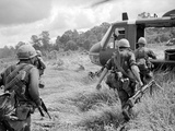 Vietnam War US 1st Infantry Photographic Print by Horst Faas