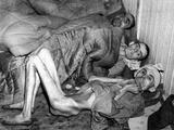 Nazi Camp Buchenwald Survivors Photographic Print by  Anonymous