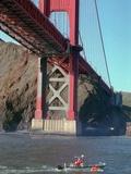 USA Golden Gate Bridge Photographic Print by Susan Ragan