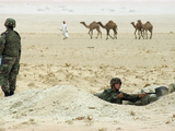 Kuwait US Intervention 1994 Photographic Print by Peter Dejong