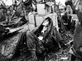 Vietnam War U.S. Hamburger Hill Photographic Print by Hugh Van Es