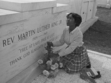 Martin Luther King Jr Grave 1969 Photographic Print by  BJ