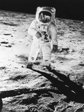 Edwin E. Aldrin Jr. Walks the Moon Photographic Print