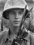 Vietnam War U.S. Marines Photographic Print by Eddie Adams