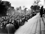 U.S. Desegregation Rally Photographic Print