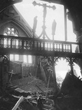 WWII London Blitz Photographic Print by  Anonymous