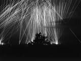 Anti-Aircraft Fire WWII Photographic Print by  Anonymous