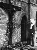 WWII London Blitz Photographic Print