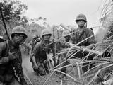 Vietnam War Operation Prairie Photographic Print by Horst Faas