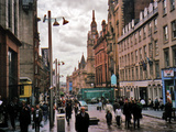 Travel Trip Glasgow Shopping Photographic Print by Sandy Kozel