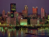 Pittsburgh Skyline Photographic Print by Gene J. Puskar