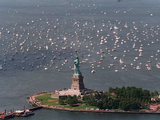 Statue of Liberty Rededication Photographic Print by Mario Cabrera