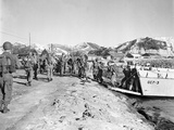 Korean War U.S. Cavalry Land Photographic Print by Associated Press