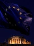 Greece Financial Crisis Photographic Print by Petros Giannakouris