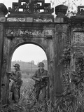 Vietnam War Hue Citadel Photographic Print by Associated Press