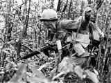 Vietnam War U.S. Infantryman Photographic Print