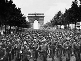 Paris Liberation Photographic Print by Peter J. Carroll