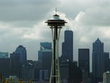 Seattle Terrorism Photographic Print by Barry Sweet