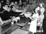 USO Canteen Shirley Temple Photographic Print by  Anonymous