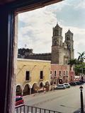 Travel Trip Yucatan Contrasts Photographic Print by Giovanna Dell'orto