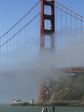 Golden Gate Fog Photographic Print by Eric Risberg