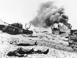 WWII Dieppe Raid Canadian Troops Photographic Print by  Anonymous