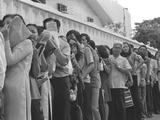 South Vietnam Evacuation Photographic Print by Khy Nan