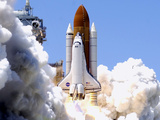 Space Shuttle Photographic Print by Terry Renna