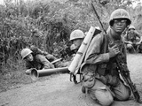 Vietnam War Operation Prairie Photographic Print by Horst Faas