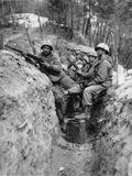 Marines Korean War Photographic Print by James Martenhoff