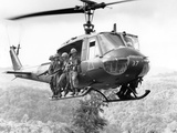 Vietnam War Operation Thayer II Photographic Print by Henri Huet