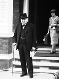 Winston Churchill 1939 WWII Photographic Print by  Anonymous
