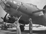 WWII Memphis Belle 1943 Photographic Print by  Anonymous