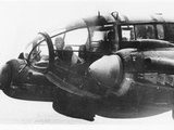 WWII German Bomber Photographic Print
