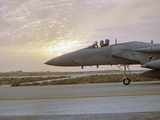 Desert Storm Gulf War Photographic Print by Bob Jordan