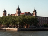 Ellis Island Photographic Print by Marty Lederhandler