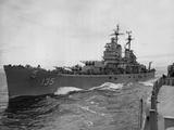 Korean War Ships Photographic Print by  Associated Press