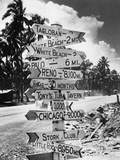 WWII Asia Philippine Islands Leyte U.S. Misc. Photographic Print by  Anonymous
