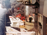 USS Forrestal Photographic Print by  Associated Press