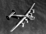 WWII U.S. Bomber Liberator Photographic Print