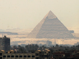 Travel Trip Bent Pyramid Photographic Print by Amr Nabil