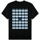 Blue Parking Lot T-shirts