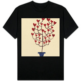 Heart Tree in Pot T-Shirt