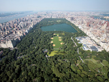 New York Aerial Views Photographic Print by Mark Lennihan